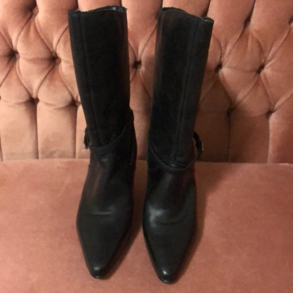 Henri Pierre Leather Boots